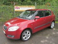 Skoda Fabia 3 1.4 TDi 80 5DR (metallic red) 2007
