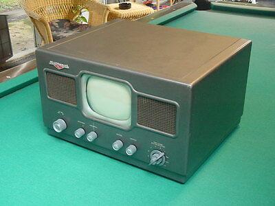 "Vintage 1940's National Model NC-TV7 Table Top 7"" TV, Unrestored"