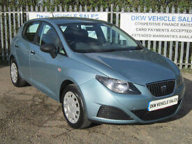 SEAT IBIZA 1.2 S (A/C) 5DR 2009 (59) ONLY 40K FSH 7 STAMPS / ONE PREVIOUS OWNER!