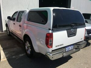 2013 Nissan Navara D40 S6 MY12 ST White 5 Speed Sports Automatic Utility Edgewater Joondalup Area Preview