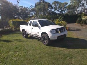 2011 Nissan Navara D40 MY11 ST-X White 6 Speed Manual Utility Capalaba Brisbane South East Preview