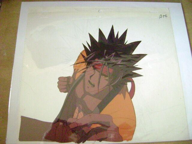 RUROUNI KENSHIN SAGARA SANOSUKE ANIME PRODUCTION CEL 2