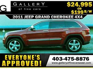 2011 Jeep Grand Cherokee Limited  $199 BI-WEEKLY APPLY NOW