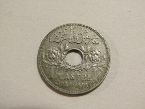 Syria 1929 1 Piastre Coin