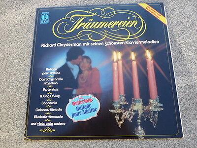 LP  Träumerein  Richard Clayderman  mit seinen schönsten Klaviermelodien TG 1203