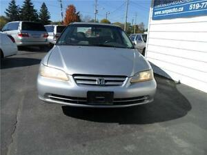 2002 Honda Accord Sdn SE Kitchener / Waterloo Kitchener Area image 2