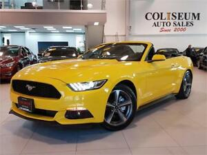 2015 Ford Mustang V6-CONVERTIBLE-FACTORY WARRANTY-ONLY 29KM