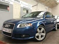 Audi A4 2.0 TDI S Line 4dr RS4 SPRINT + BLUE + 12 MONTH MOT + 2 REMOTE KEYS