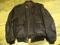 hein gericke vintage cafe racer /bobber /custom leather jacket