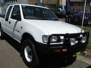 1998 Holden Rodeo TFR9 LS (4x4) White 5 Speed Manual 4x4 Spacecab Cambridge Park Penrith Area Preview