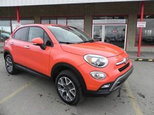 2016 FIAT 500X AWD TREKKING Accident Free,  Leather,  Bluetooth,