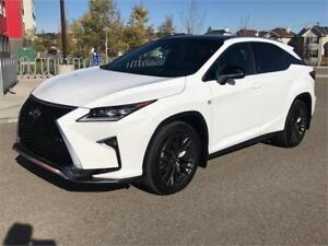 2016 Lexus RX 350 F SPORT AWD **SERIES 3/ ONLY 10,500 KMS**