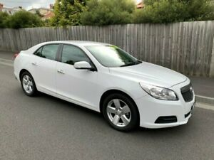 2014 Holden Malibu EM CD White 6 Speed Automatic Sedan North Hobart Hobart City Preview
