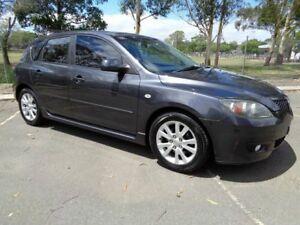 2006 Mazda 3 BK10F1 Maxx Sport Grey 5 Speed Manual Hatchback