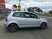 2008 Volkswagen Polo 9N MY08 Upgrade GTi Silver 5 Speed Manual Hatchback Laverton Wyndham Area Preview