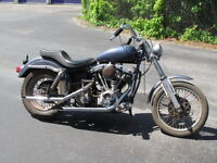 Old Harley Davidson any shape, parts or complete or project