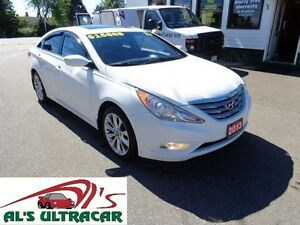 2013 Hyundai Sonata SE w/ leather only $129 bi-weekly all in!