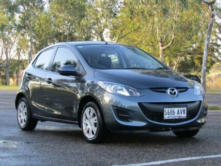 2012 Mazda 2 Grey Manual Hatchback Murray Bridge Murray Bridge Area Preview