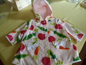 ~ * ~ Gymboree Girls Rain Coat ~ *~ 9 - 12 Months ~ * ~