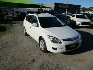 2011 Hyundai i30 FD MY11 CW SX 2.0 White 4 Speed Automatic Wagon Heatherbrae Port Stephens Area Preview