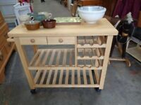Portable Minin Kitchen Storage Unit
