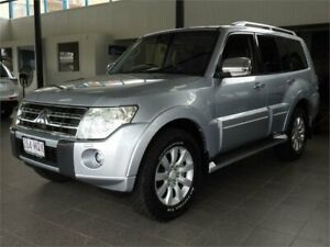 2010 Mitsubishi Pajero NT MY10 Exceed Silver 5 Speed Sports Automatic Wagon