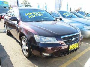 2006 Hyundai Sonata NF Elite Plum Automatic Sedan Minchinbury Blacktown Area Preview