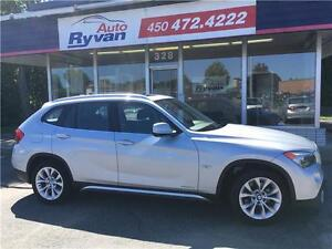 2012 BMW X1 28i CUIR TOIT PANO TURBO 78,000KM SEIGES ÉLECT MAGS