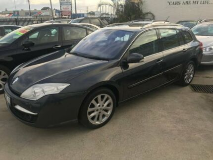 2010 Renault Laguna III K91 Dynamique Estate Grey 6 Speed Sports Automatic Wagon Welshpool Canning Area Preview