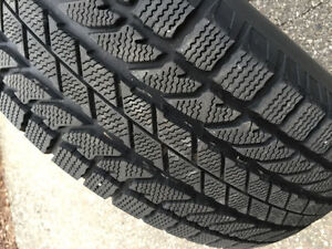BF Goodrich Winter Slalom tires on rims 4 in excellent condition