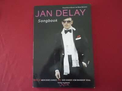 Jan Delay - Songbook . Songbook Notenbuch Piano Vocal Guitar PVG
