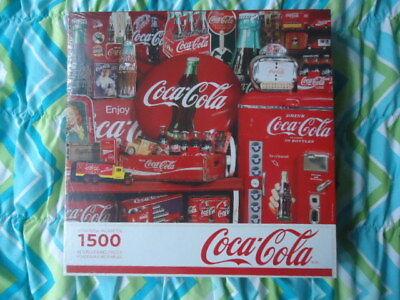 Coca Cola Memories Souvenirs Springbok 1500 Pieces Jigsaw Puzzle New Sealed