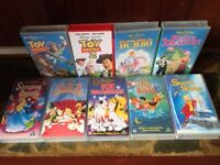 DISNEY CLASSICS FILMS INCL. TOY STORY & DUMBO - 9 VHS VIDEO TAPES