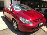 2004 Peugeot 307 T5 MY03 CC Dynamique Red 5 Speed Manual Cabriolet Maidstone Maribyrnong Area Preview