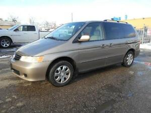 2003 HONDA Odyssey EX Leather Power Sliding Doors AS IS Special