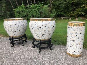 Flower ceramic set