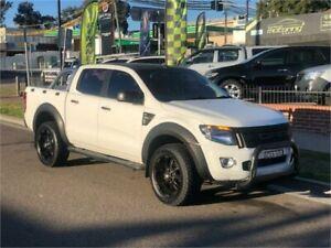 2014 Ford Ranger PX XLS White Sports Automatic Utility Auburn Auburn Area Preview