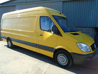 Mercedes Sprinter 311 CDi LWB high top van 2011 61 reg