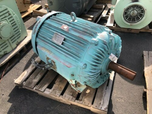 200 HP Siemens-Allis Electric Motor, 900 RPM, 507U Frame, TEFC, 460 V, 1.15 S.F.