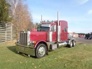 2007 PETERBILT 379L, REBUILT CAT C15 550HP