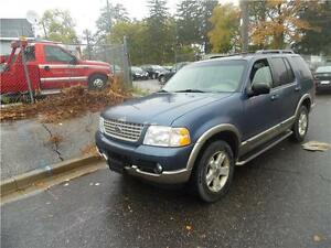 2003 Ford Explorer Loaded , DVD , Leather 4WD $2450