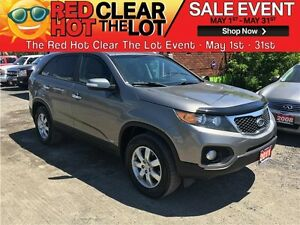 2011 Kia Sorento LX REDUCED! CERTIFIED! AWD! WARRANTY!