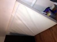 Memory foam mattress topper (double)