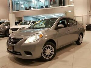 2014 Nissan Versa S-ONLY 80KM-FULL OPTIONS-FACROY WARRANTY