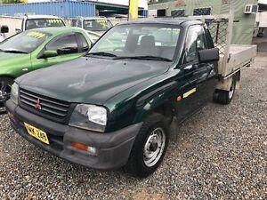 1998 Mitsubishi Triton MK GLX Green Manual Cab Chassis Jewells Lake Macquarie Area Preview