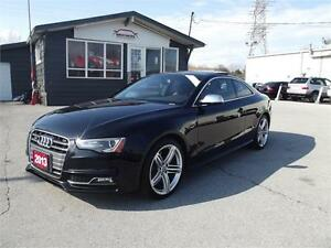 2013 Audi S5|RED INTERIOR|NAV|SUNROOF|LEATHER|1OWNER|NO ACCIDENT