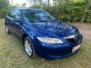 2003 Mazda 6 GG Series 1 Classic Sedan 4dr Spts Auto 4sp 2.3i Blue Sports Automatic Sedan Sheldon Brisbane South East Preview