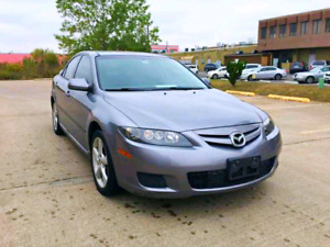 2008 Mazda 6 ....Low kms,New MVI !!