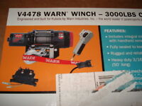 WARN ATV/SIDE BY SIDE 3000 lb WINCH KIT