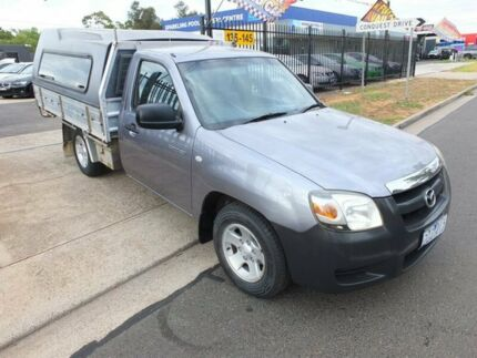 2006 Mazda BT-50 B2500 DX Grey 5 Speed Manual Cab Chassis Werribee Wyndham Area Preview